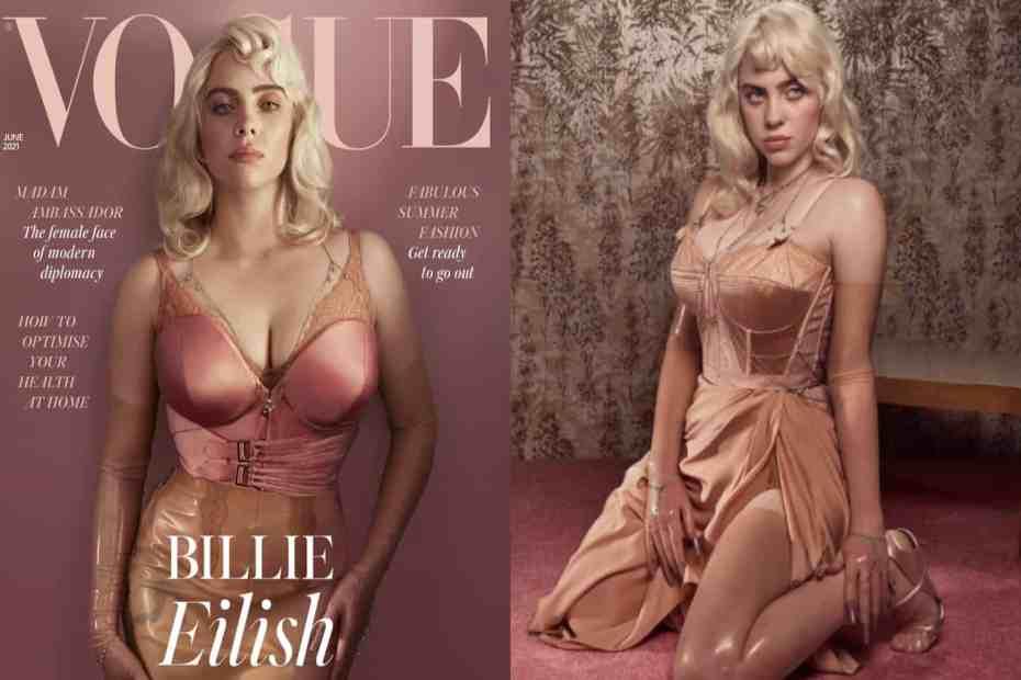 Billie Eilish breaks Instagram record with British Vogue cover pics