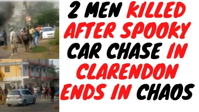 Clarendon Residents Claim Police Shot up Car And Killed Passengers But The Story Doesn't Add up