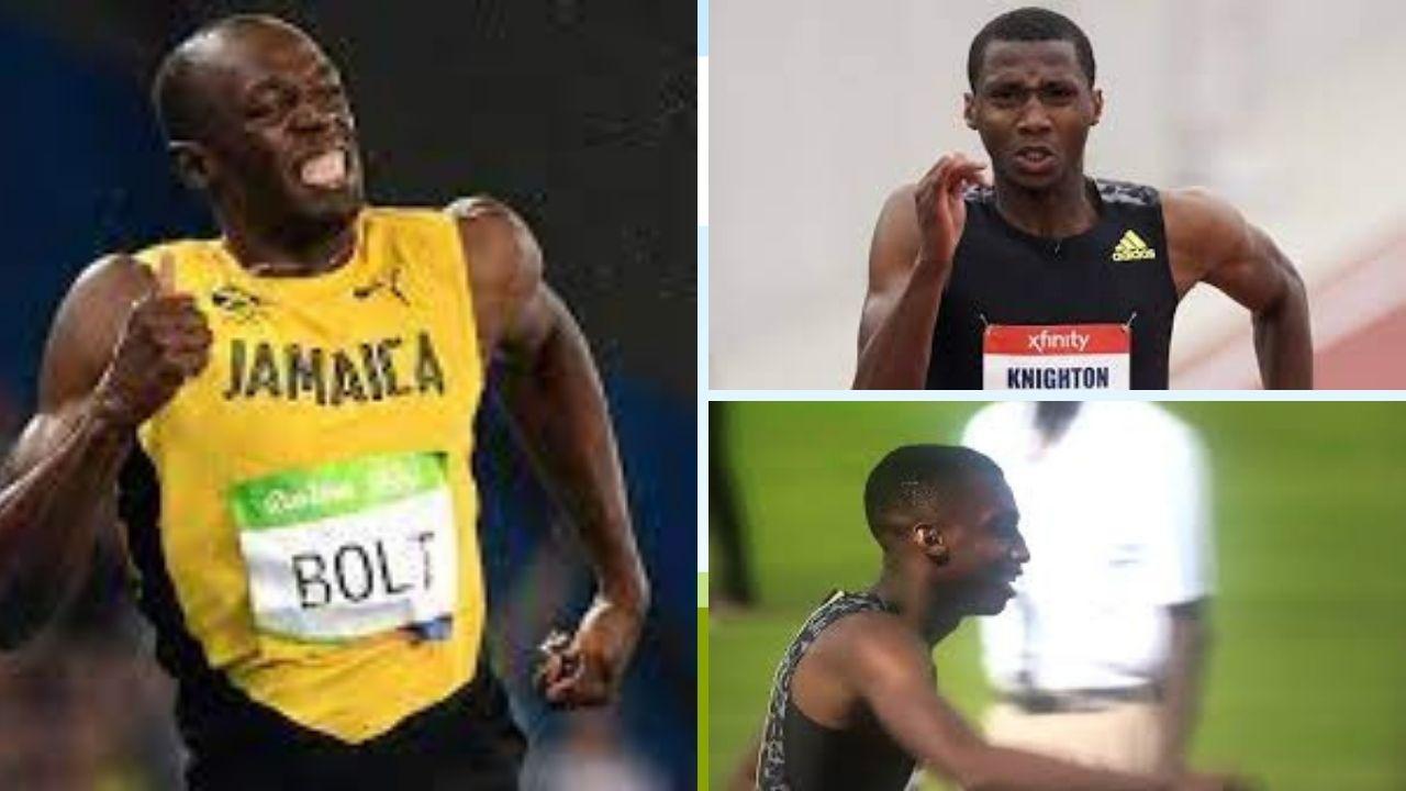 Florida teenager Erriyon Knighton breaks Usain Bolt's 200m junior record