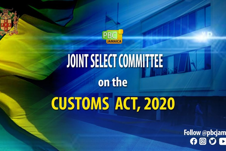 LIVE NOW: Joint Select Committee on The Customs Act, 2020 – June 16, 2021