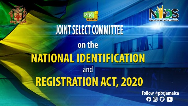 Joint Select Committee on the National Identification & Registration Act, 2020 – June 22, 2021