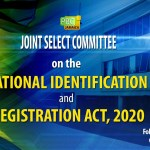 LIVE NOW: Joint Select Committee on the National Identification & Registration Act, 2020 – June 24, 2021