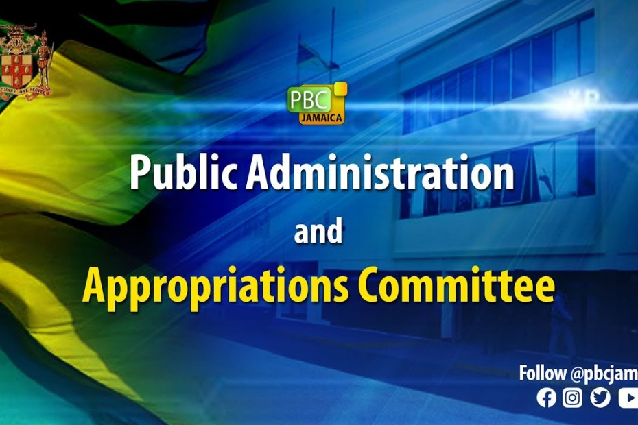 Public Administration and Appropriations Committee – June 23, 2021