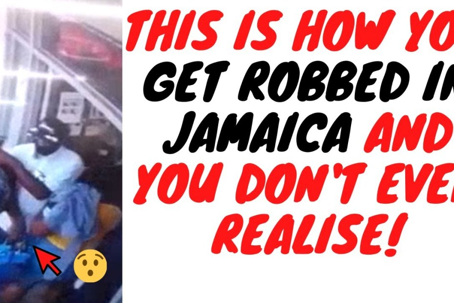 This Videos Shows How Criminals In Jamaica Rob People Right In Front Of Their Faces