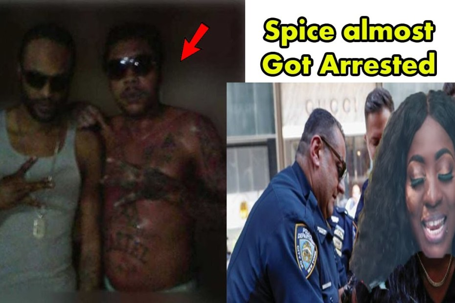 Vybz Kartel And Most Loyal Friend Prison Pic | Spice Almost Get Lock Up By Police