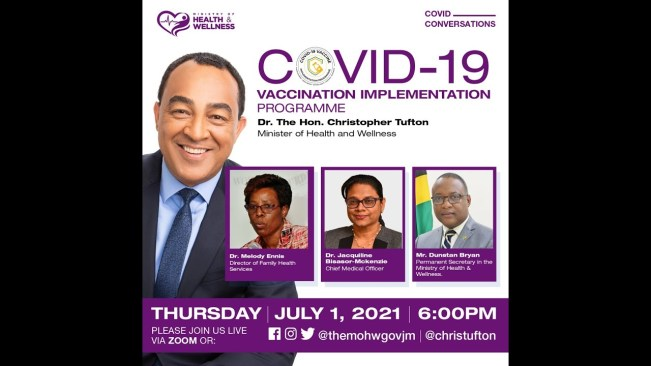 COVID Conversations || COVID-19 Vaccine Implementation Programme – July 1, 2021