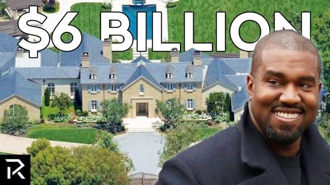 How Kanye West Spends $6.6 Billion