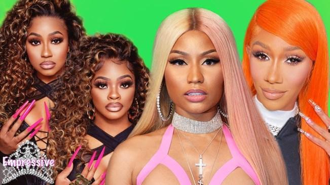 Nicki Minaj felt used by other female rappers?
