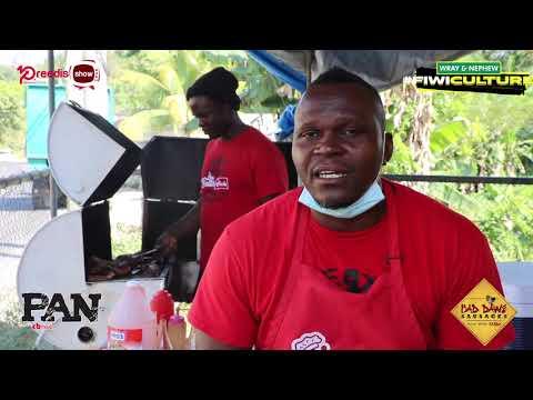 """PAN Di Fyah"" with St James Pan Chicken Vendor"