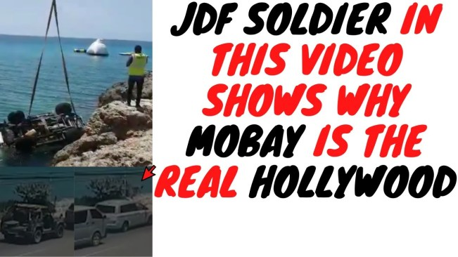 This Is What Happens When JDF Soldiers Are Bored Outta Dem Minds
