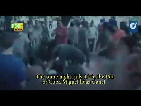 views on cuban protest