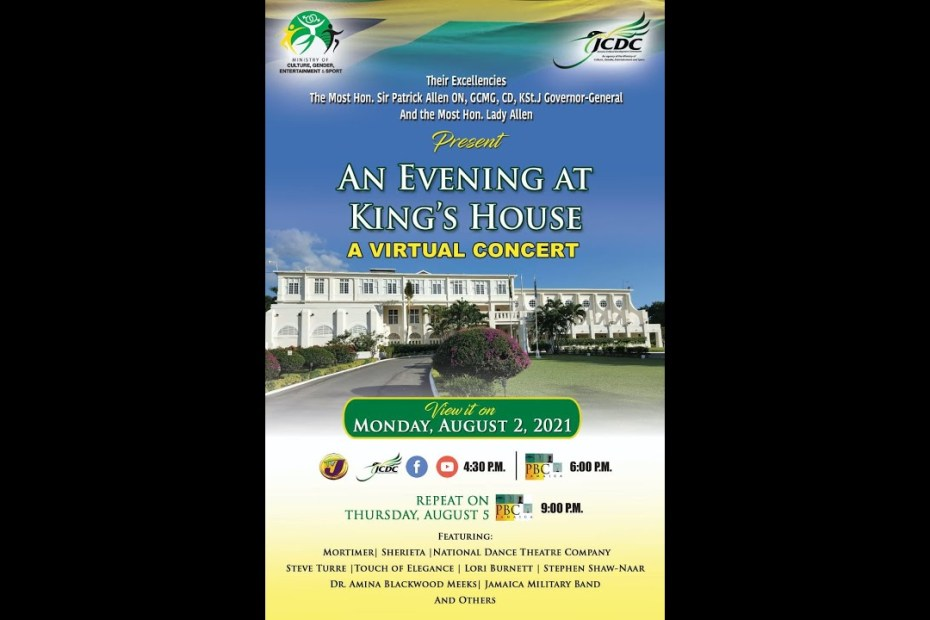An Evening at Kings House – Virtual Concert