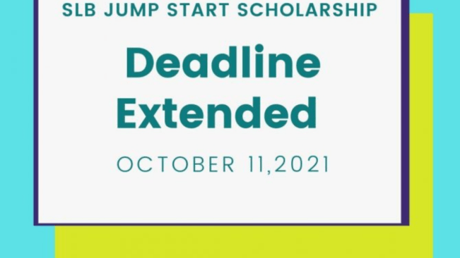 SLB Extends Application For Jump Start Scholarship To October 11