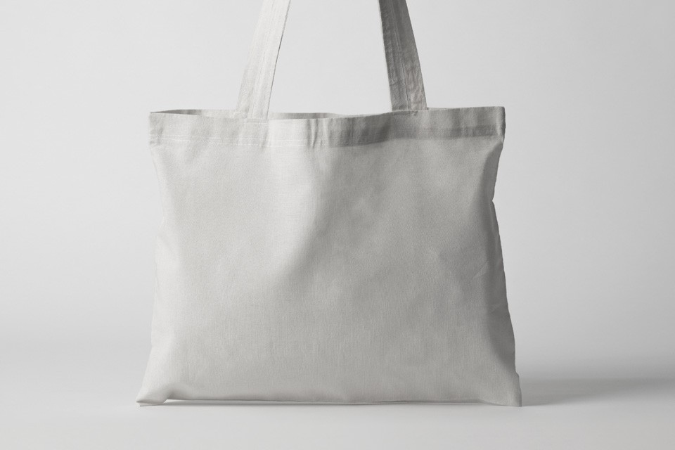 Simply drag and drop your design and share it with your audience. Tote Fabric Bag Mockup Free Mockup Download