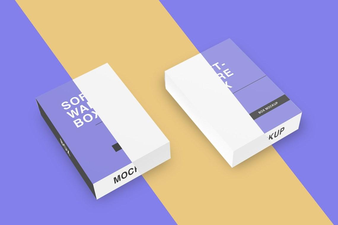Download Free Software Box Mockup - Free Mockup Download