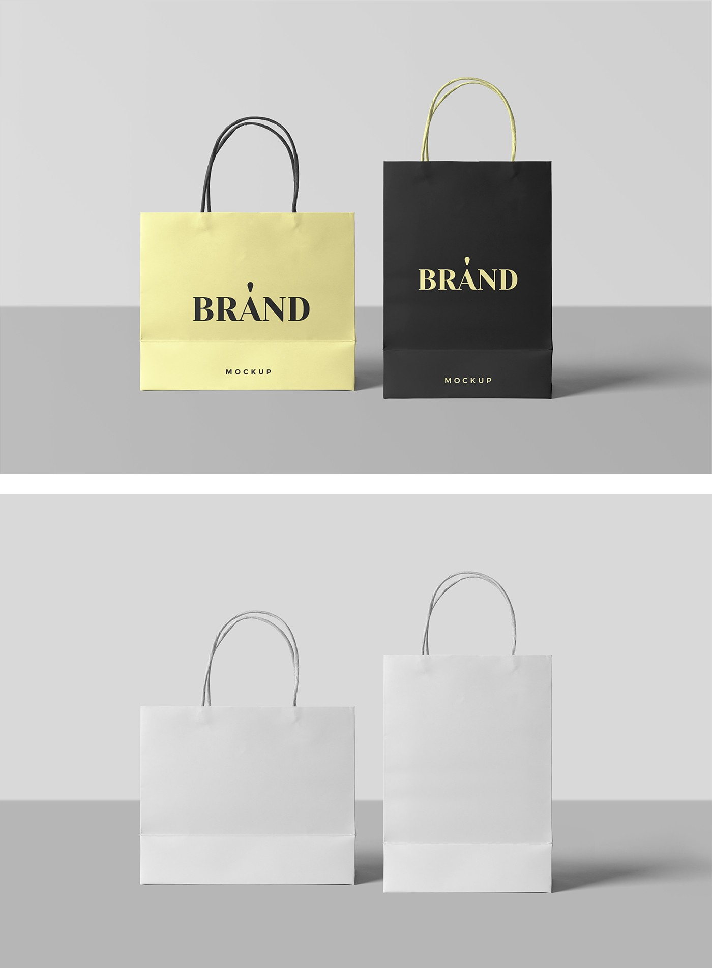 To do so, edit the smart object and color layers — it's simple, yet the result is worth a million. Shopping Bag Mockup Free Mockup Download