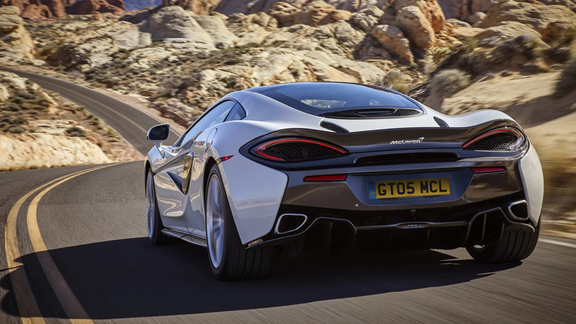 mclaren 570gt performance sports car