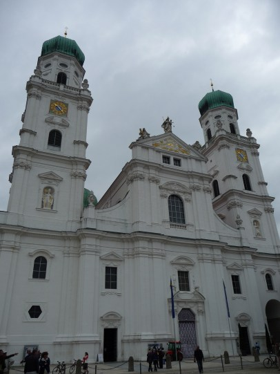 St. Stephan's Cathedral (Dom St. Stephan), which is the seat of the Bishop of Passau
