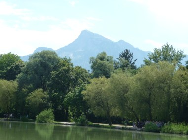 The Untersberg from just south of Salzburg