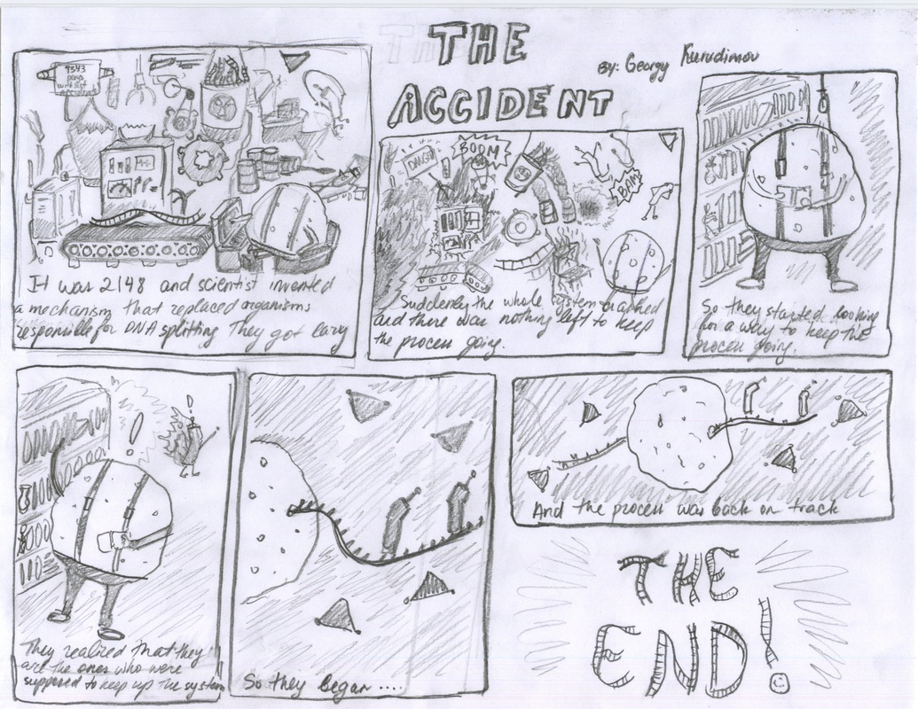 Artifact 3 Protein Synthesis Comic Strips