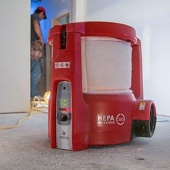 BuildClean Air Cleaner Remodeling Dust control HEPA Filter