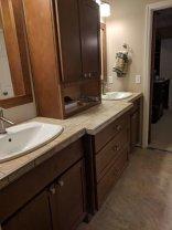 Bathroom Vanity Side view
