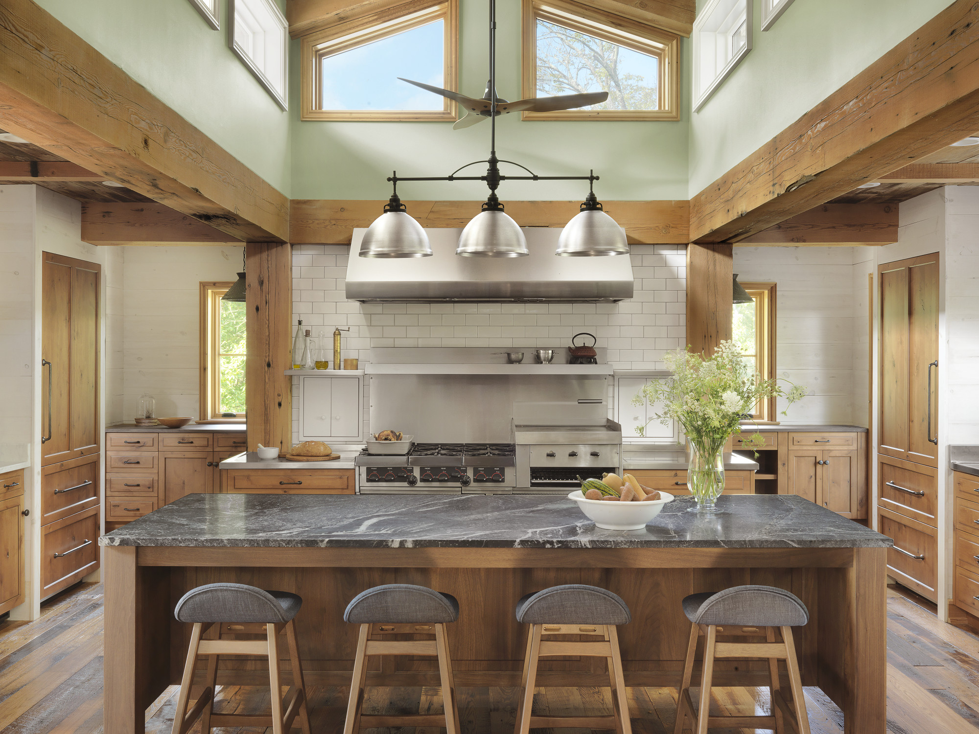 Kitchen retreat