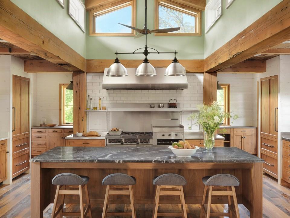 rustic kitchen retreat
