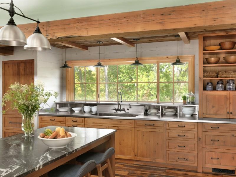 rustic custom kitchen cabinets