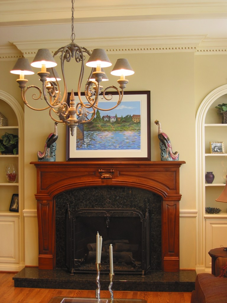 Custom mantel
