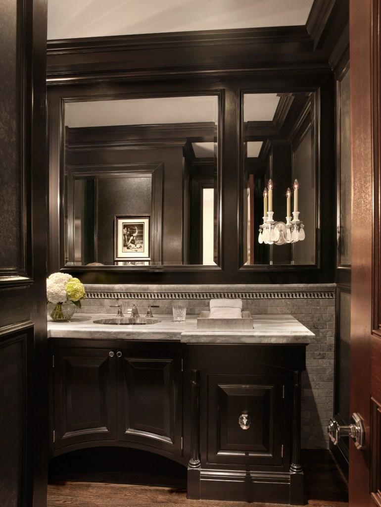 Luxurious bathroom vanity