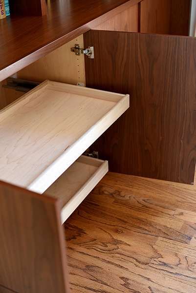 cabinet accessory pullout