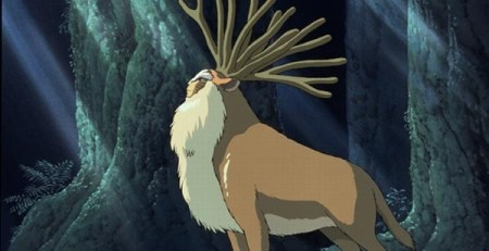 Screenshot from Princess Mononoke
