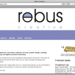Rebus Creative - website redesign