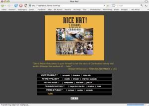 Nice Hat! Documentary website