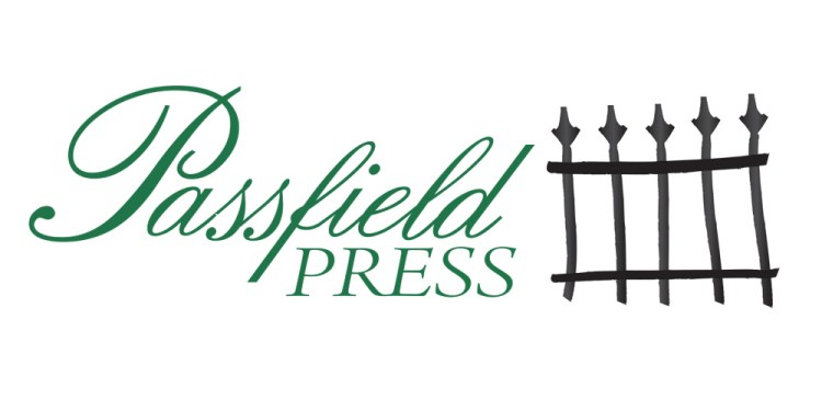 Passfield Press wordmark and colophon (logo)