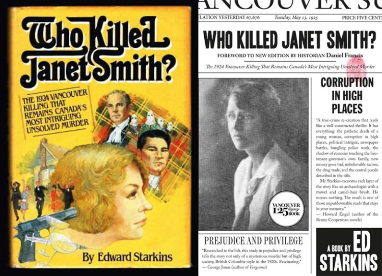Cover images for Who Killed Janet Smith? by Ed Starkins