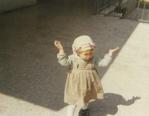 'Yemeni' (scarf) wearing Natalie circa 1986