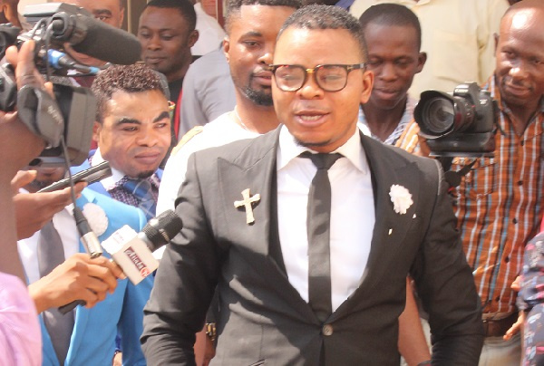 Bishop Obinim's father is dead