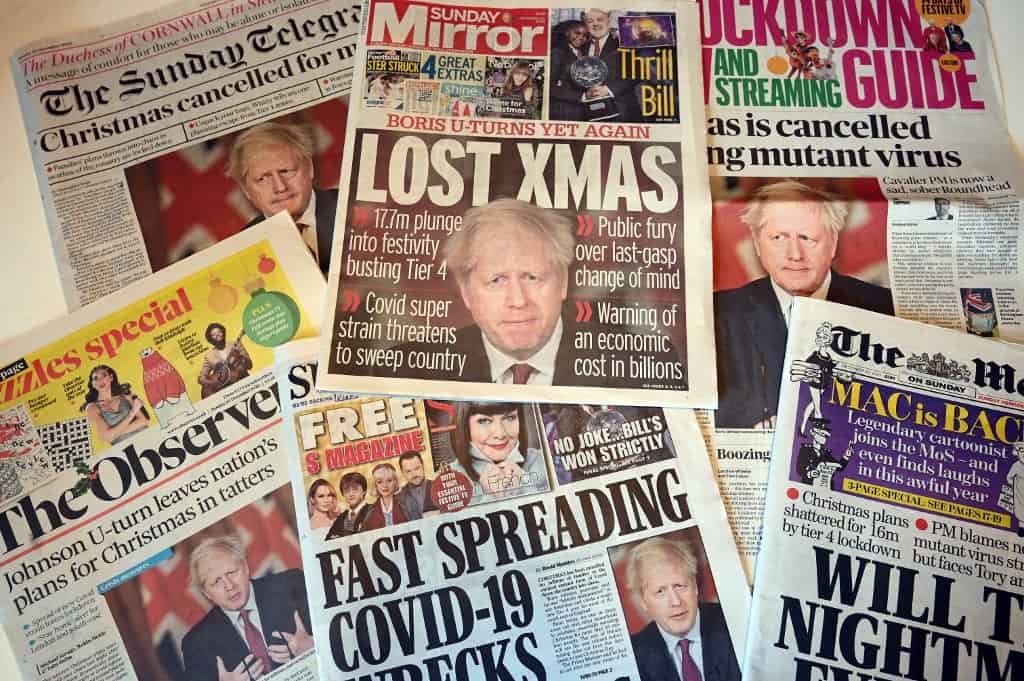 Newspaper front pages from around the world, Tuesday 23 February 2021