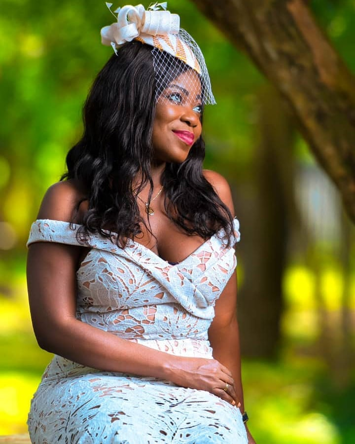 Head of Programs at Despite Media Group, Afia Pokuaa aka Vim Lady dazzles in wedding pictures making waves on the internet.