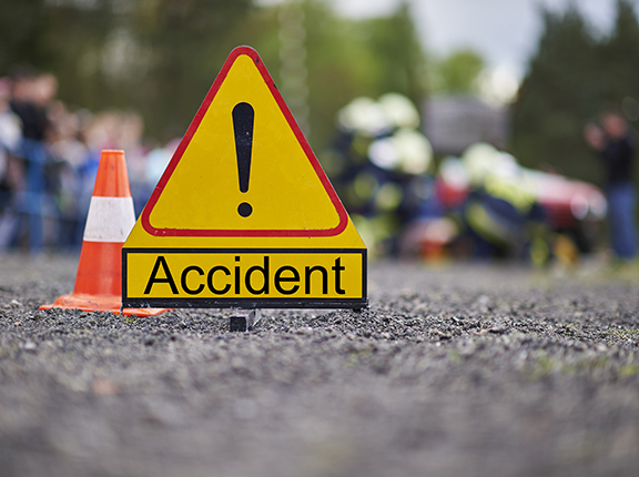 Gory accident at Suhum kills five