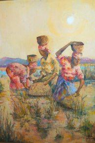 "Daniela Razafindrakoto (1994 ) "" les nasseuses"" localisation: St Marie...."