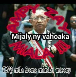 Tsy mila 2e mandat