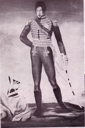 radama-1er-portrait-par-andre-coppalle-1825-1826 in Raombana Histoires 2.