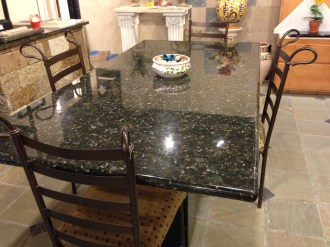 mcm Stone Granite Table Showroom
