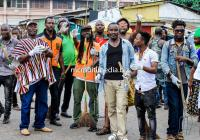 BUKOM BANKU JOINS MPESE ROYAL FAMILY IN CLEAN UP AT BUKOM AND IT'S ENVIRONS