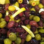 Marinated Olives with Garlic and Lemon