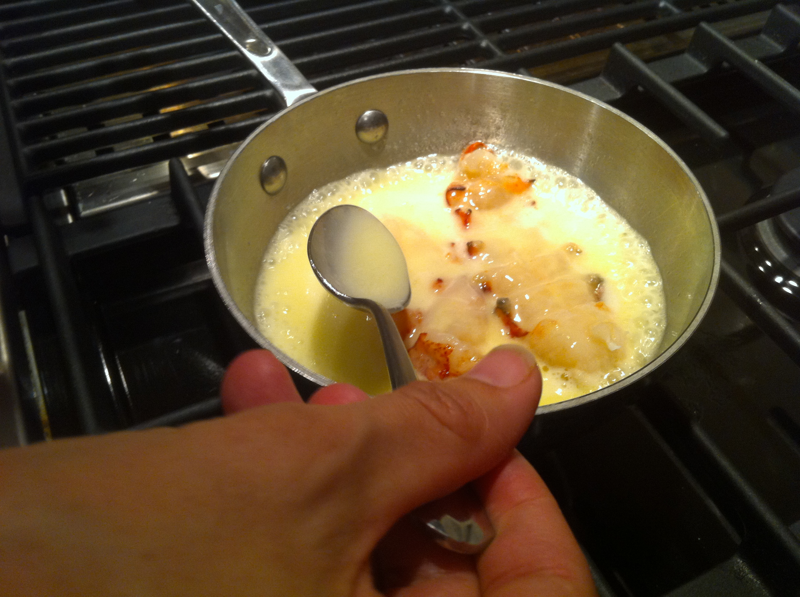 Butter Poached Lobster Tail Recipe
