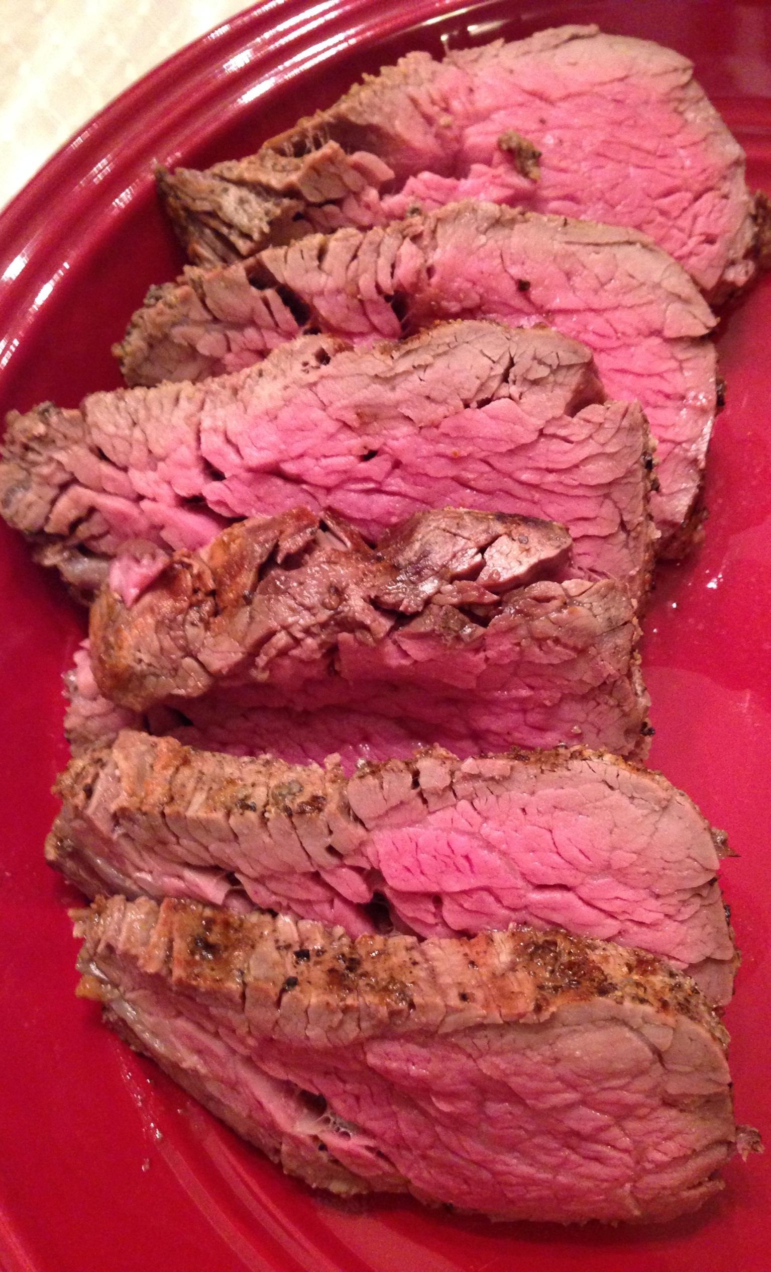 Salt Crusted Beef Tenderloin
